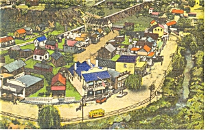 Hamburg PA Roadside America Sleepy Hollow Postcard p7580 (Image1)