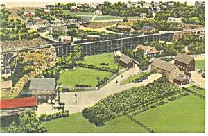 Hamburg,PA, Roadside America, Flour Mill Postcard (Image1)