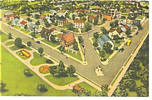 Hamburg Pa Roadside America Fairfield Village Postcard P7582