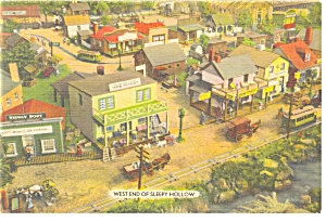 Hamburg Pa Roadside America West Sleepy Hollow Postcard P7587