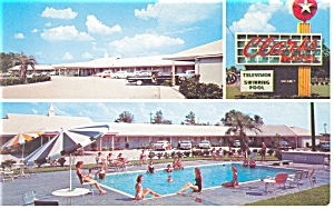 Santee Sc Clark S Motel And Restaurant Postcard P7617