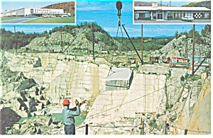 Barre, Vermont Rock of Ages Quarry Postcard (Image1)