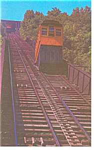 Pittsburgh Pa Duquesne Incline Postcard P7749