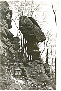 Ticklish Rock, Real Photo Postcard