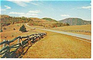 Doughton Park NC Postcard p7941 1964 (Image1)