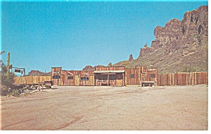 Mining Camp Restaurant  AZ Postcard p7954 (Image1)