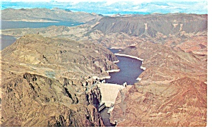 Hoover Dam and Lake Mead Postcard (Image1)