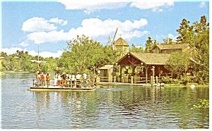 Disney World  FL Tom Sawyer Island Postcard p8011 (Image1)
