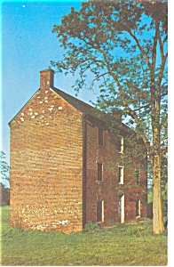 Appomattox Court House,VA, County Jail Postcard (Image1)