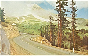 Mountain Pass In The West Scenic Postcard