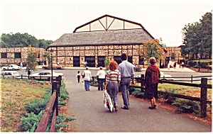 Heritage USA Barn Learning CenterStudio Postcard p8070 (Image1)