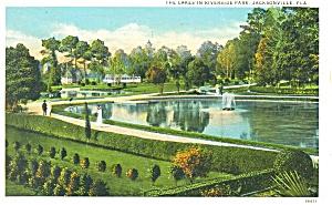 Jacksonville FL Riverside Park Postcard p8083 (Image1)