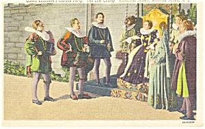 Roanoke Island NC Lost Colony Postcard p8096 (Image1)