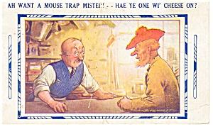 Scotch Comic Postcard p8117 1931 (Image1)
