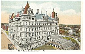 Albany, NY, The NY State Capitol Postcard (Image1)