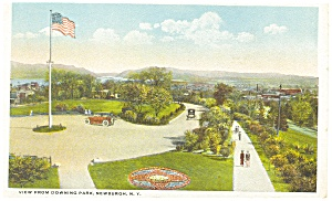 Newburgh NY View from Downing Park Postcard p8123 (Image1)
