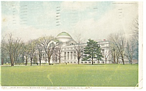 Washington DC, National Museum and Gallery Pcard 1921 (Image1)