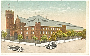 Brooklyn , NY, 23rd Regiment Armory Postcard 1920 (Image1)