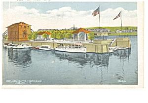 Albany NY Yacht Club Postcard p8212 (Image1)