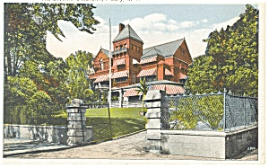 Albany, NY, The Governor's Mansion Postcard (Image1)