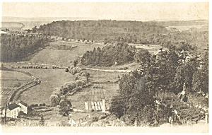 Chaumont France Vallee de la Suize Postcard p8240 (Image1)
