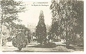 Chaumont France La Square du Boulinagrin Postcard p8241 (Image1)