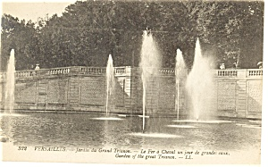 Versailles France Garden of the Great Trianon Postcard p8242 (Image1)