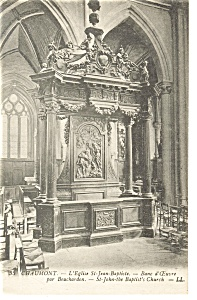 Chaumont France Interior St John The Baptist Church P8244