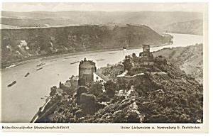 Cologne, Germany Ruins of Castle Liebenstein Postcard (Image1)