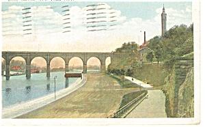 New York City NY High Bridge Postcard p8283 1921 (Image1)
