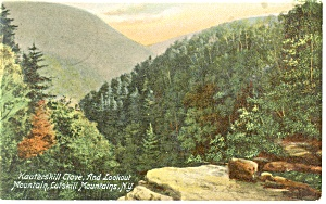 Kaaterskill Clove and Lookout Mt Postcard p8342 1908 (Image1)