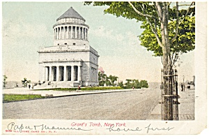New York City NY Grant s Tomb Postcard p8344 1905 (Image1)