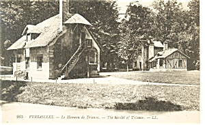 Versailles,France,The Hamlet of Trianon Postcard (Image1)