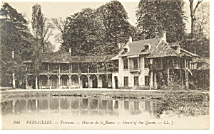 Versailles, France, Home of the Queen Postcard (Image1)
