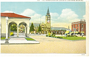 Cheyenne, WY, Transportation Center Postcard (Image1)