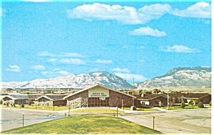 Buffalo Bill Historical Center Cody WY Postcard p8443 (Image1)