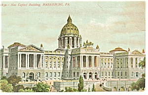 State Capitol, Harrisburg, PA  Postcard (Image1)