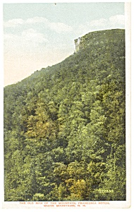 Old Man of the Mountain,Franconia Notch,NH  Postcard (Image1)