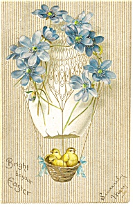 Bright Beyond Easter Postcard 1908 (Image1)