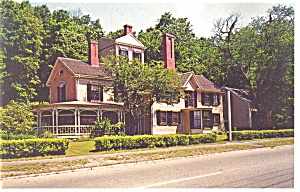 Concord, MA, The Wayside House Postcard (Image1)