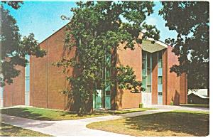 Hickory NC Lenoir Rhyne College Postcard p8465 (Image1)
