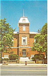 Brevard NC Transylvania Court House Postcard p8475 (Image1)