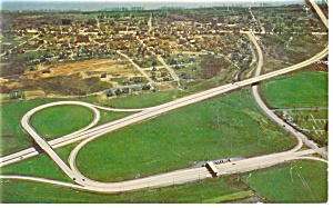 Pa Turnpike Howard Johnson Mike Roberts Postcard