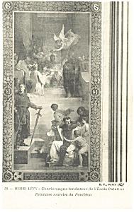 Henri Levy Charlemagne Palatine School Postcard p8529 (Image1)