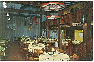 Rice Planter s Restaurant Interior Postcard p8543 (Image1)