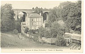 Environs de Vire (Calvados) France Postcard (Image1)