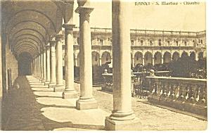 NaplesItaly S Martino Chiostro Postcard p8579 (Image1)