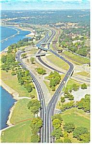 Fred Gardiner Expressway, Toronto,Ontario Postcard (Image1)