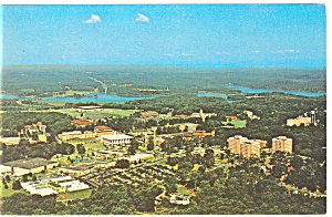 Aerial View of Clemson University Postcar (Image1)
