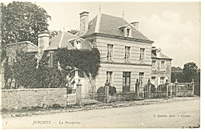 Jurques, France, La Perception Postcard (Image1)